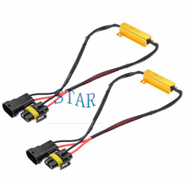 Car H8 H9 H11 Fog Light Wire Harness with Resistor