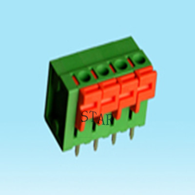 5mm pitch screwless pcb terminal block ST5101-5.0