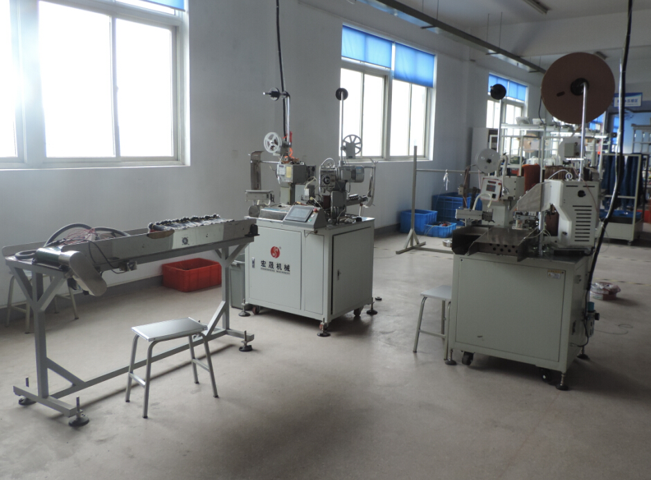New Automatic Crimp Terminal Machine, Promote Quality